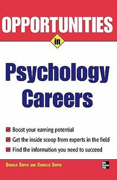 Advice from experts in the field on how to choose and succeed in a psychology career Psychology Careers, Psychology Major, Psych Major, Online College, Online Library, Career Education, Career Development, Great Books, Teaching Resources