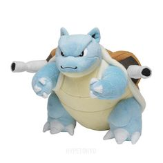 Pokemon Center Original Plush Doll : Kamex [Blastoise] – HYPETOKYO