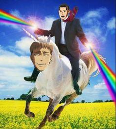 Anime/manga: SNK Characters: Jean and Marco, okay...