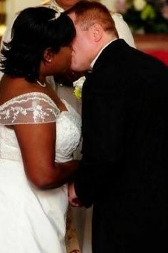 Love to see this! interracialeroticabooks.com #interraciallove #bwwm #bwwmmarriage #interracialromance Wedding Kiss, Wedding Album, Our Wedding, Interracial Wedding, Interracial Love, Happy Love, White Boys, Beautiful Black Women, First Love
