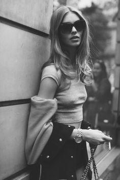 senyahearts:  Models Off Duty: Ondria Hardin by Caroline Levy-Bencheton - Fall 2015 Couture, Paris