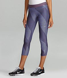 Designed running pants/capris. slim on all the way down legs (Nike Relay Capri Running Pants)