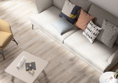 Minoli Tiles - Tree-Age - Tree-Age White by Minoli is a contemporary wood look porcelain tile that can give the power of natural wood with the contemporariness durability and resistance of a porcelain tile. Floor Tiles: Tree-Age White 10 x 70 cm - https://www.minoli.co.uk/tiles/tree-age-white/ - #Minoli #minolitiles #tile #tiles #porcelain #porcelaintile #treeage #white #light #grey #wood #look #woodlook #effect #woodeffect #matt #natural