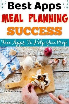 Take a look at these meal planning apps, perfect for busy moms. If you're ready to make your health goals a reality, pick your favorite app and get meal planning! Frugal Meals, Cheap Meals, Easy Meals, Meal Planning App, Best Apps, Health Goals, Getting Organized, Budget, Make It Yourself