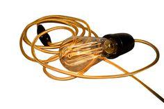 Baladeuse Golden Eye et Ampoule rétro à filament Edison - Crafty Light