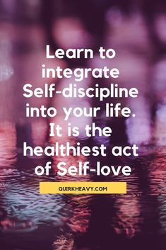 Self-discipline is the highest form of self-love. Practice Quotes, Confidence Boost, Self Discipline, Self Awareness, Self Love Quotes, Mindful Living, Life Advice, Best Self, Self Development