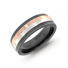 Malo | Gents Wedding Band | Style CG-034PG 2 #weddingband #mens Wedding Band Styles, Wedding Bands, Rings For Men, Groom, Engagement Rings, Jewels, Diamond, Metal, Ideas