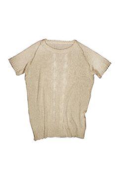 Thread woven shirt.