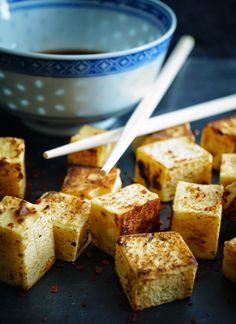 ofu aus Kichererbsen (Shan Tofu)