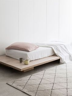 Bedroom with concrete floor. Armadillo & Co