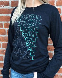 Matrix - Funny Volleyball Shirts - Ideas of Funny Volleyball Shirts - Product Specifics Black Heather is cotton/polyester oz. Grey Triblend is polyester/cotton/rayon oz. Volleyball Shirt Designs, Funny Volleyball Shirts, Volleyball Sweatshirts, Volleyball Outfits, Volleyball Quotes, Volleyball Gifts, Coaching Volleyball, Volleyball Pictures, Volleyball Players