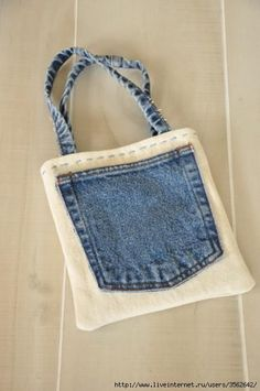 926f9c2c07 Designer bags and purses recycled denim Designer Amy Barickman of Indygo  Junction created this quick and easy bag with recycled jeans--perfect for  carrying ...