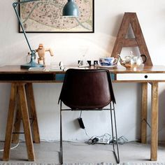 #GiftBuzz - Wooden #desk - Bodie and Fou For residence and commercial projects.