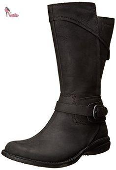 Merrell CAPTIVA LAUNCH MID 2 WTPF, Bottes d'équitation non doublées femme, Noir - Noir, US 5.5 UK 3.5 EU 36 - Chaussures merrell (*Partner-Link)
