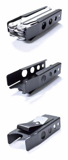 Leatherman Wave Metal Sheath Easy 1 Finger removal belt clip