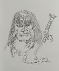 Conan by Esteban Maroto Comic Art