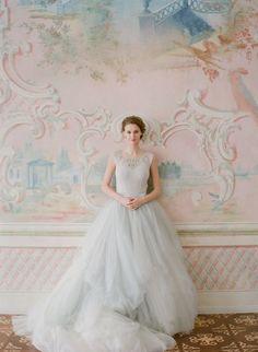 Wedding dress MyWony Long Wedding Dresses, Wedding Dress Styles, Tulle Wedding, Chateau Wedding Inspiration, Lace Hairpiece, Photography Workshops, Lace Dress, Flower Girl Dresses