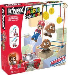 K'NEX Nintendo Super Mario 3D Land Stacked Goombas Building Set