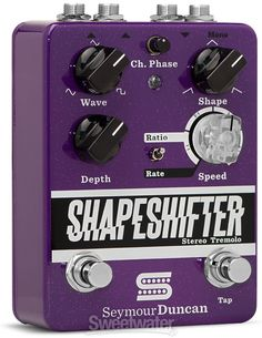 the 584 best pedals images on pinterest caricatures, guitar pedals  seymour duncan shape shifter tremolo pedal with stereo in & out sweetwater com