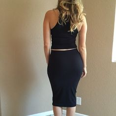 Black Midi Pencil Skirt Beautiful Black Bodycon Midi skirt. Brand new. Never worn. No flaws. 87% polyester, 13% spandex. Available in S-M-L. Model is wearing a small for reference. Bundle for 10% off. No Paypal. No trades. No offers will be considered unless you use the make me an offer feature.     Please follow  Instagram: BossyJoc3y  Blog: www.bossyjocey.com Skirts Midi