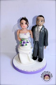 Mariage Couple Figurines http://yesidomariage.com - Conseils sur le blog de mariage