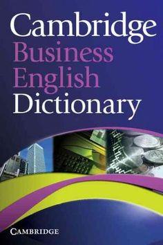 Cambridge Business English Dictionary