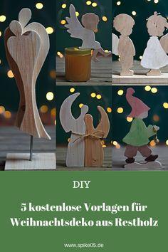 Holz Jesus Fisch Basteln Deko 3-50cm Breite