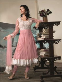 @b3moda Designer Anarkali, Trendy Collection, Anarkali Suits, Tulle, Formal, Skirts, Fashion, Preppy, Moda