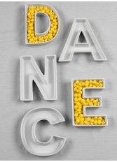 DANCE Letter Dish Set