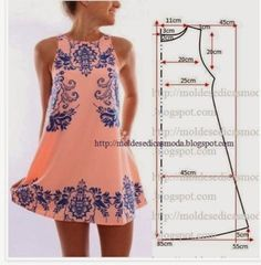 Diy Sewing Projects Easy DIY Mini Dress Sewing Pattern - 10 Fashionable DIY Dress Sewing Patterns Perfect for Every Body Shape Dress Sewing Patterns, Clothing Patterns, Easy Dress Pattern, Summer Dress Patterns, Simple Pattern, Sewing Summer Dresses, Shift Dress Pattern, Shirt Patterns, Summer Sundresses