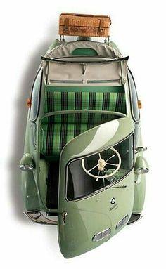 """doyoulikevintage: """"BMW isetta 1956 """""""