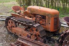 1944 Cletrac HG Crawler - a lot of these were used in the logging industry