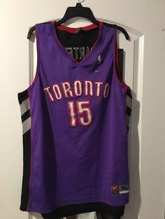 Men's Nike NBA Jersey Toronto Raptors Vince Carter 15 Size XL   #Nike #TorontoRaptors