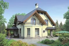 Modern Bungalow House, Design Case, Home Fashion, Home And Garden, Cottage, House Design, Cabin, How To Plan, Luxury