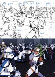 Star wars - Star Wars Vader - Ideas of Star Wars Vader - Star wars Star Wars Rebels, Star Wars Clone Wars, Obi Wan, Star Wars Pictures, Star Wars Images, Boba Fett, Cuadros Star Wars, Statue, Star Wars Drawings