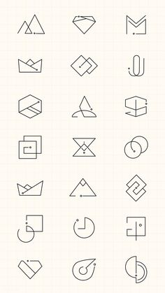 Save A Fortune With These Interior Design Tips Web Design, Icon Design, Brand Design, Brand Identity Design, Arquitectura Logo, Type Logo, Logo Minimalista, Minimal Logo Design, Geometric Logo
