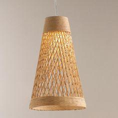 Mini LED Fiber Weave Indoor/Outdoor Pendant