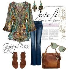 Gypsy Wear, created by charlotte-bilton-carver on Polyvore