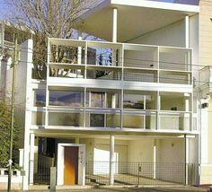 House Curuchet. Le Corbusier. La Plata. Argentina.
