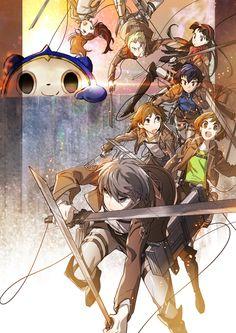 進撃の巨人 進擊的巨人 Attack on Titan Shingeki no Kyojin   ペルソナ4 女神異聞錄4 Shin Megami Tensei: Persona 4