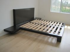 Custom king size platform bed - all eco-friendly and non-toxic