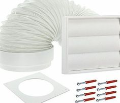 Spares2go  Exterior Wall Venting Kit for Electrolux Tumble Dryers (White, 4`` / 102mm) No description (Barcode EAN = 5055992696965). http://www.comparestoreprices.co.uk/december-2016-week-1/spares2go-exterior-wall-venting-kit-for-electrolux-tumble-dryers-white-4--102mm-.asp