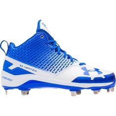 new style 1e027 f70d4 Under Armour Men s Heater Mid ST Baseball Cleats