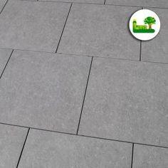 #Feinsteinzeug #Blue #Stone #light #gartenleber #grey #pavement #terrace Pavement, Exterior Design, Terrace, Grey, Blue, Porcelain Tiles, Stones, Balcony, Gray