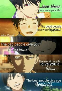 Anime Quotes And Thoughts [✅] - 23