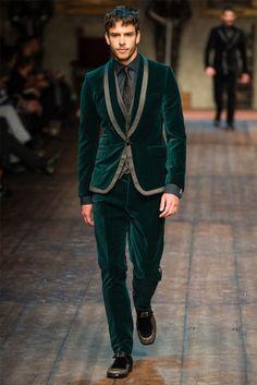 Dolce & Gabbana Men Fall/Winter 2014   Milan Fashion Week