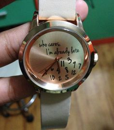 Who cares Watch..