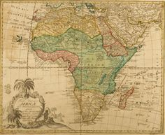 Africa, 1760. - link isn't directly to this map (you have to scroll a bit) but the tumblr is called: Time for Maps. So yes, I will be pinning this