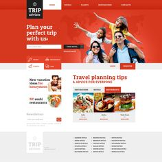 Website Theme , Travel Guide