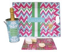 Office Party Entertaining Set - One set left & it's on now! Love Gifts, Best Gifts, Gifts For Her, Office Parties, Office Gifts, Cute Office Supplies, Pink Office, Party Trays, Happy Love